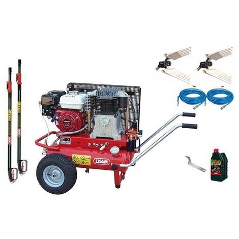 Kit olive 2 operatori Lisam Professional LM200 compressore Honda 2 abbacchiatori
