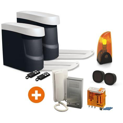 Kit OpenGate 2 Integral, avec interphone AudioKit 32068 + Relais 12V, OPENGATE 2 + 32068 + Relais