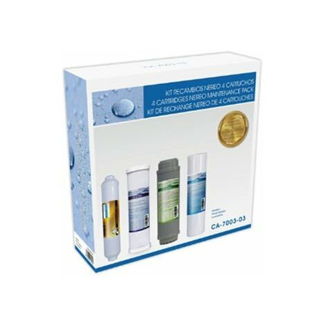 Kit Osmosis 3 Cartuchos Standard + Postfiltro Hidro Water CA700303