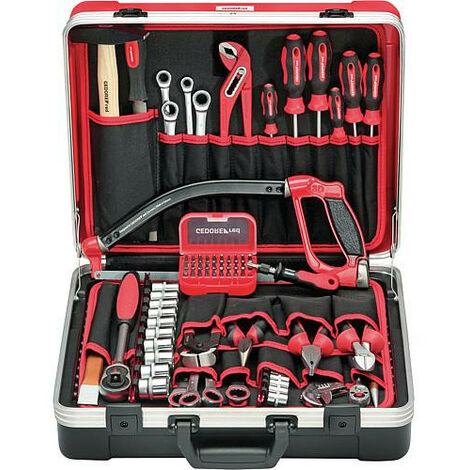 Kit outils GEDORE red Basis 72 pcs dans mallette d'outils *BG*