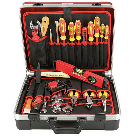 Kit outils GEDORE red electrotechnique 42 pieces avec mallette a outils