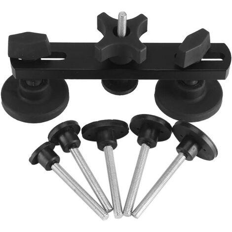 Kit Outils réparation Carrosserie Auto Accessoire extracteur dentaire pont de tôles Automobile frigo surface acier Dent Puller avec ventouse rondelle