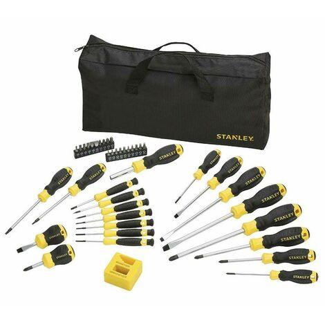 Kit outils tournevis de 42 pièces + Sac bandoulière STHT0-62113 Stanley