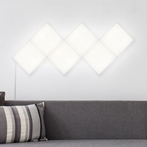 Kit Panneau LED Carré 15x15cm 18.5W 1200lm (6 Un) Blanc Neutre 4000K - 4500K