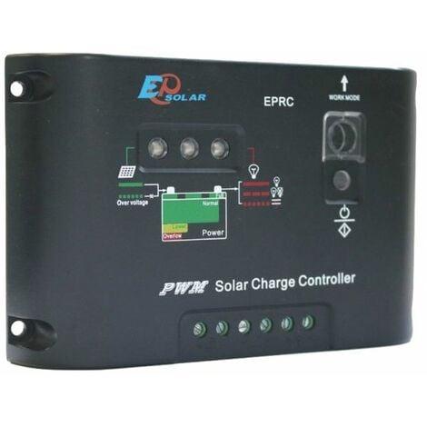 Kit panneau solaire 100W Poly 12V av régulateur 10A et batterie