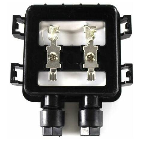 Kit panneau solaire Monocristallin 20W 12V et régulateur 5A