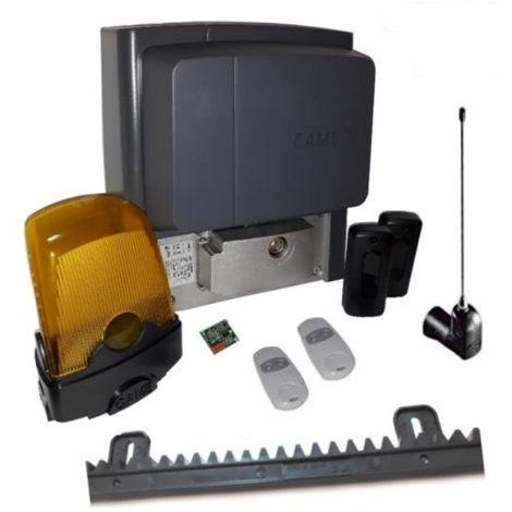 Kit para cancelas correderas de hasta 400 kg de longitud 4-6 m CAME BX704AGS + 2 piezas Came Top 432EE