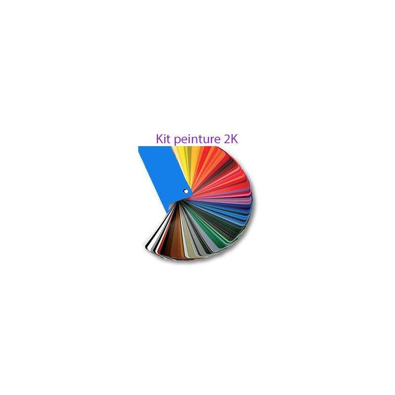 Kit peinture 2K 3l RAL 3007 SCHWARZROT /