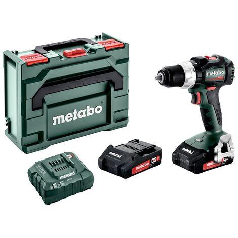 Kit perceuse / tournevis à batterie Li-Ion Metabo BS 18 LT BL 18V (2x batterie 2.0Ah) dans une boîte - sans charbon