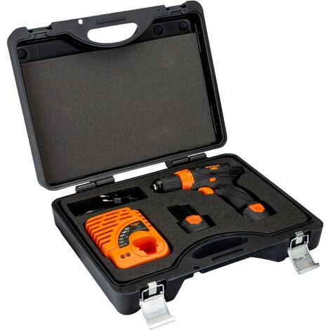 Kit perceuse/ visseuse professionnelle sans fil 12V Bahco BCL31D1K1