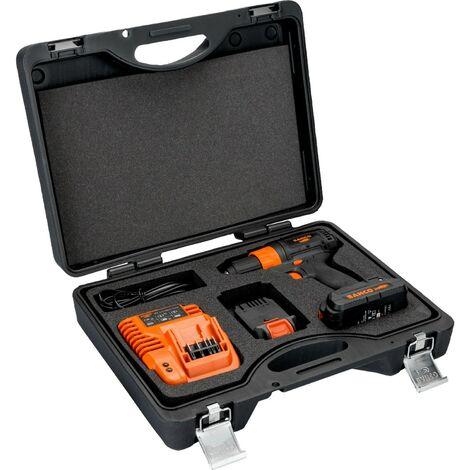 Kit perceuse/ visseuse sans fil 18V Bahco BCL33D1K1