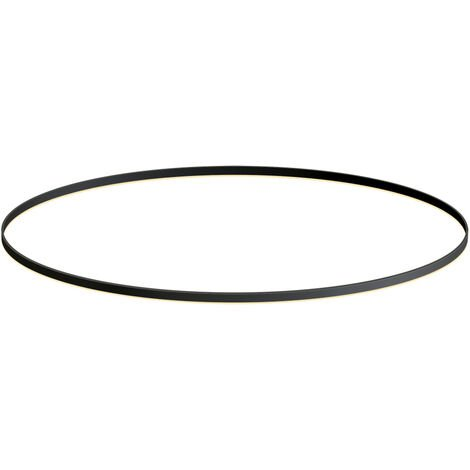KIT - Perfil aluminio circular RING, Ø1800mm, negro