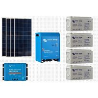 Kit Photovoltaique complet SITE ISOLE 1080 Wc - 24 Volts