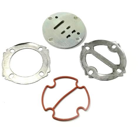 5 Pezzi Piastra Valvola Metallo a Forma di U Accessorio Piastra Valvola Valvola Compressore 59mm di Larghezza Accessori per Parti di Elettroutensili