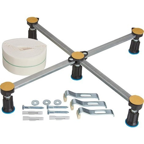 Kit pied pour receveur R5 mini pc de serrage inclus Bande d'isolation et protection