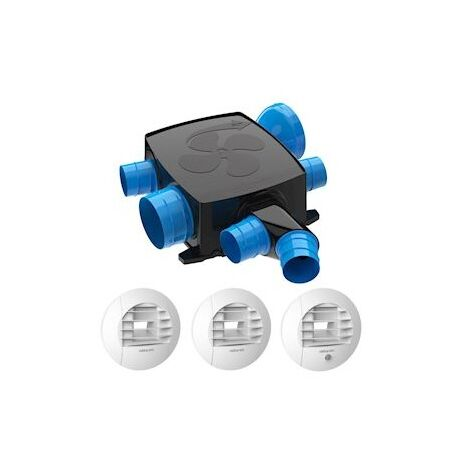 Kit piles Hygrocosy BC FLEX VMC hygro basse conso plat 6 sanitaires3bouches