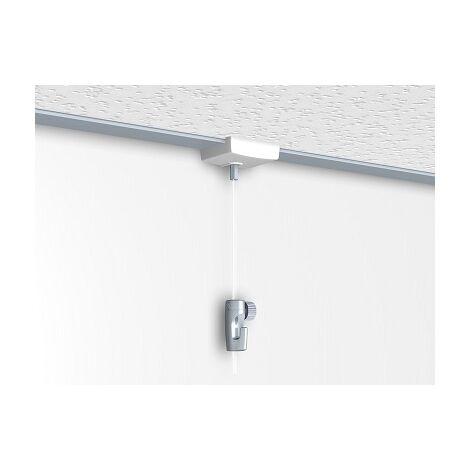 Kit Pince faux Plafond pour accrochage de tableaux (latéral)