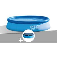 Kit piscine autoportée Easy Set 3,05 x 0,76 m + épurateur + bâche de protection - Intex