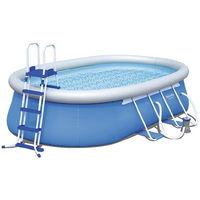 Kit piscine Bestway Fast Set Po ovale 549 x 366 x 122cm