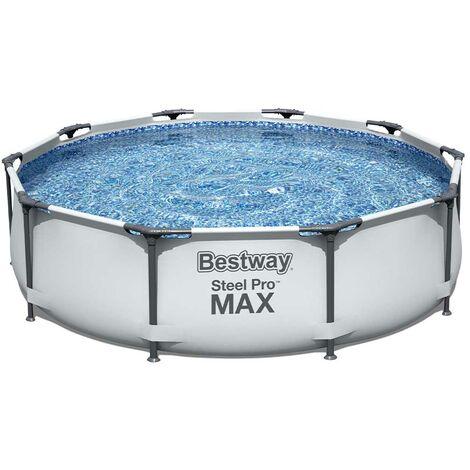 Kit piscine Bestway STEEL PRO MAX ronde Ø305x 76cm