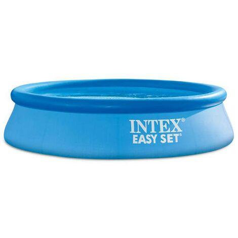 Kit piscine Easy Set 244x61 cm - Bleu