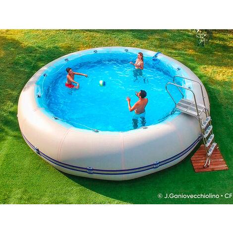 Kit piscine hors-sol autoportante Zodiac WINKY 5-120 ronde 6.55m x 1.25m