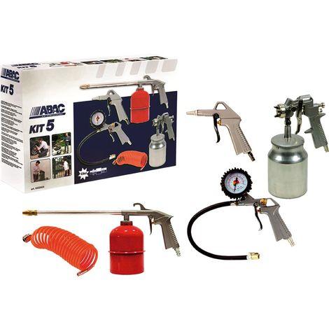 Kit pistolas de pintar 5 Abac