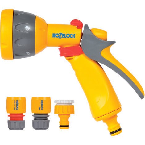 Kit Pistolet Multi Spray + raccords - Hozelock 2347P0000 - Garantie 2 ans