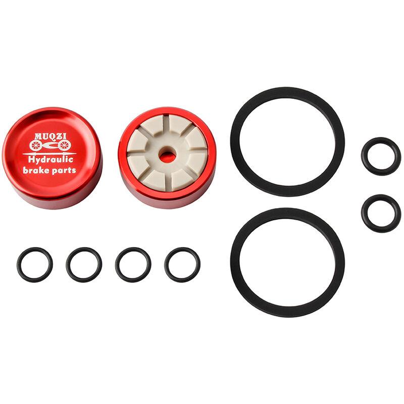 Kit Piston Et Joint D'Etrier De Frein Hydraulique Pour Velo, Rouge