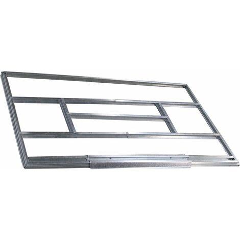 "main image of ""Kit plancher abri de jardin métal 12 m2 Trigano"""