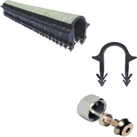 Kit plancher chauffant hydro 30 a 120 m² collecteur résine, tube BAO