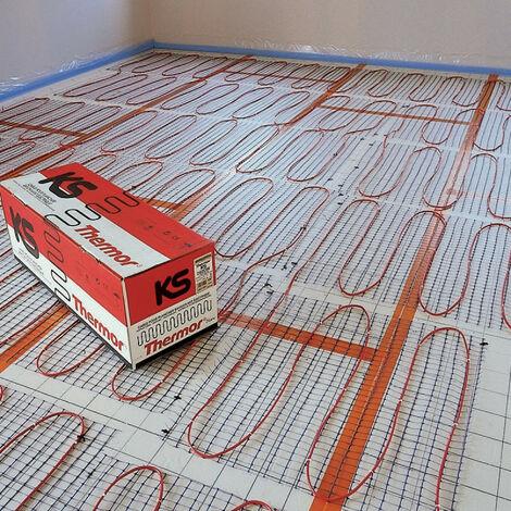 Kit plancher chauffant KS largeur 85 sans thermostat 2400W