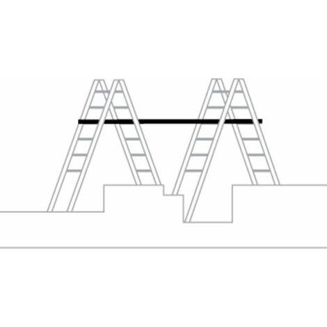 KIT plateforme télescopique - Echelle double télescopique (plusieurs tailles disponibles)