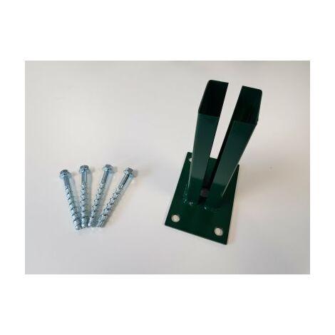 Kit Platine Portillon Barreaudé ou Premium Vert + Visserie