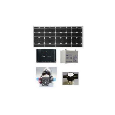 Kit pompe solaire de surface SHURFLO avec batterie