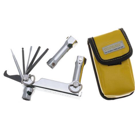 Kit porte outils professionnel multifonctions pour tronçonneuse