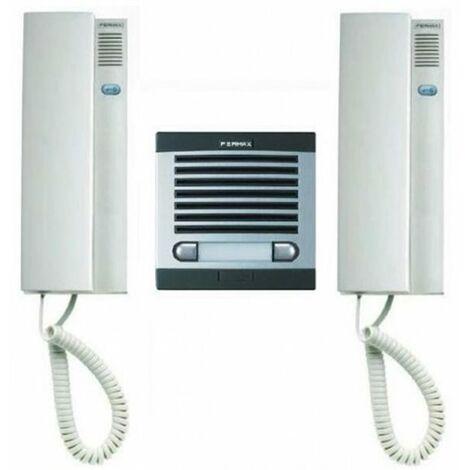 Kit portero electronico Fermax 6202 citimax 2 lineas