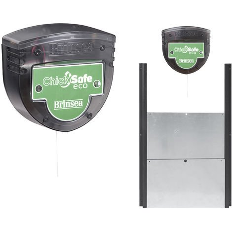 Kit Portier automatique Brinsea ChickSafe Éco + trappe sectionnelle