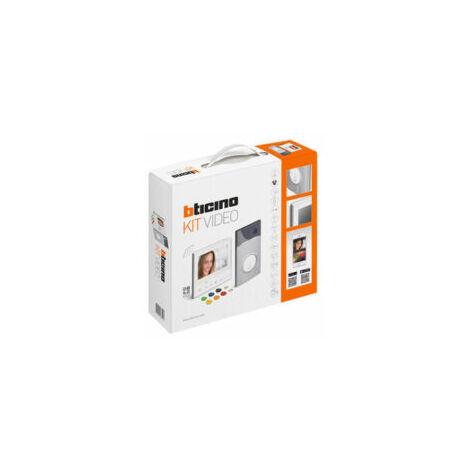 Kit Portier Résidentiel vidéo à mémoire d'image - BT363911- BTICINO
