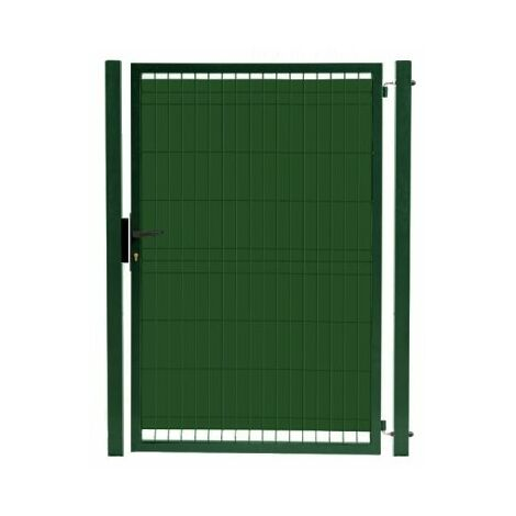 Kit Portillon Jardin Grillagé Occultable Vert - JARDIPRO + Occultation - 1,80 mètre