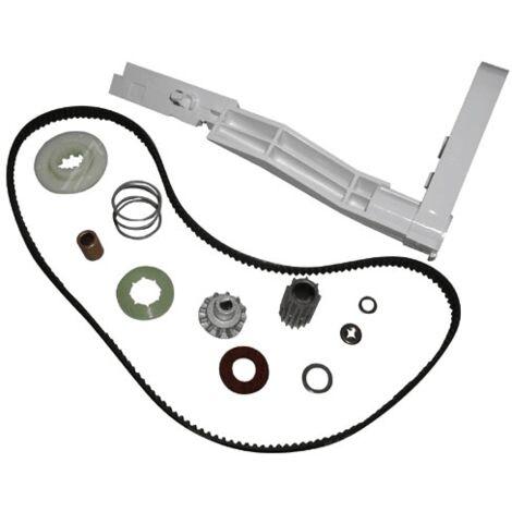 KIT POULIE MOTEUR COMPLETE + COURROIE POUR PETIT ELECTROMENAGER MOULINEX - MS-5966860