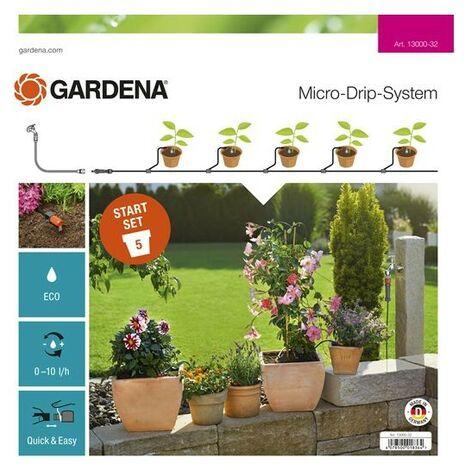 Kit pour plantes en pots S GARDENA Micro-Drip 13000-34