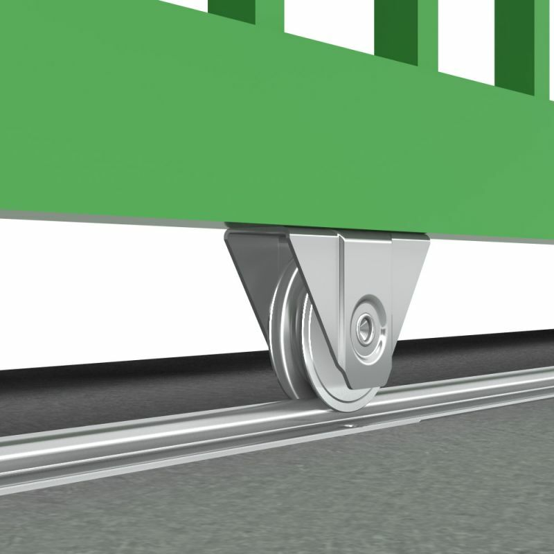 kit pour portail coulissant sur rail au sol de 400 kg - su5061