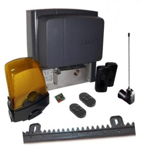 Kit pour portails coulissants d'une pesant jusqu'a 400 kg longueur 4-6 m CAME BX704AGS + 2 pieces Came Top D4FKS