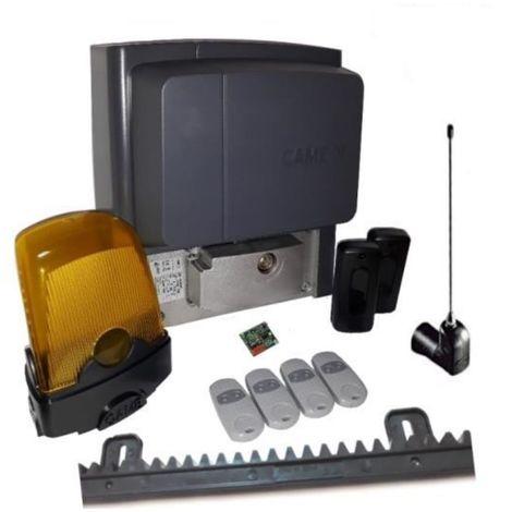 Kit pour portails coulissants d'une pesant jusqu'a 400 kg longueur 4-6 m CAME BX704AGS + 4 pieces Came Top 432EE