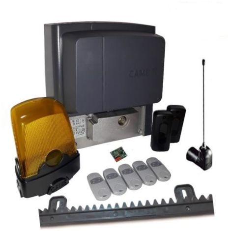 Kit pour portails coulissants d'une pesant jusqu'a 400 kg longueur 4-6 m CAME BX704AGS + 5 pieces Came Top 432EE