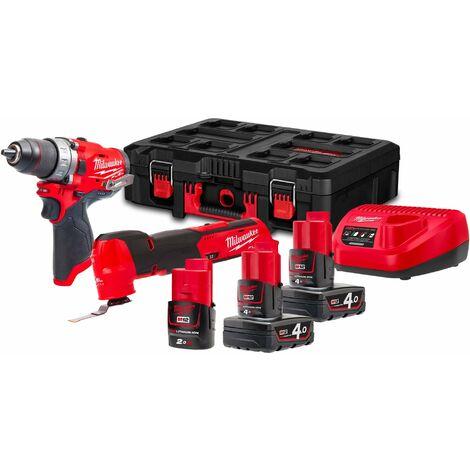Kit Power Pack Milwaukee M12 FPP2AX-423P