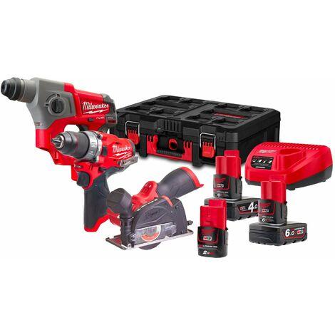 Kit Power Pack Milwaukee M12 FPP3R-6423P