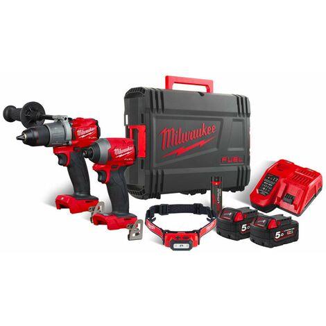Kit Power Pack Milwaukee M18 FPP2A2-502XL