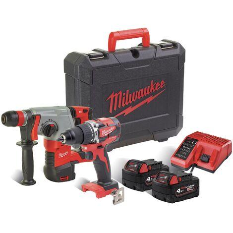 Kit Power Pack Milwaukee M18 PP2D-402C